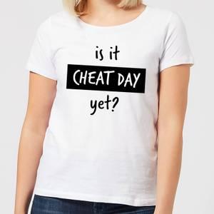 Is it Cheat Day Frauen T-Shirt – Weiß