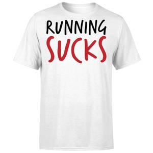 Running Sucks T-Shirt - White