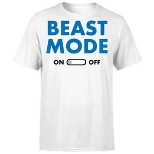 Beast Mode On T-Shirt - White