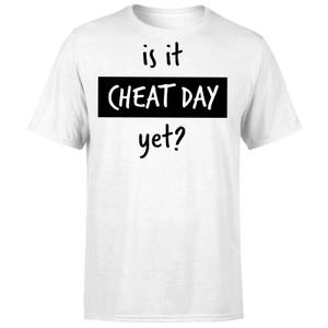 Is it Cheat Day T-Shirt - White