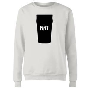 Full Pint Women's Sweatshirt - White