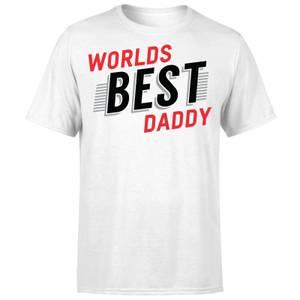 Worlds Best Daddy T-Shirt - White