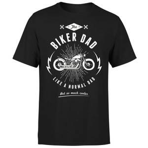 Biker Dad T-Shirt - Black