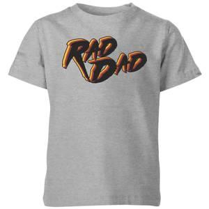 Rad Dad Kids' T-Shirt - Grey