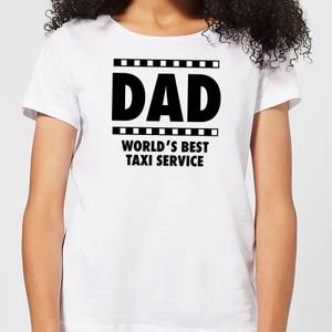 Dad Taxi Service Women's T-Shirt - White