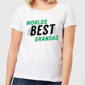 Worlds Best Grandad Women's T-Shirt - White