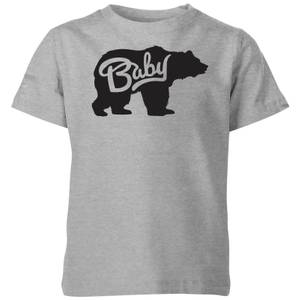 My Little Rascal Baby Bear Kids' T-Shirt - Grey