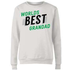 Worlds Best Grandad Women's Sweatshirt - White