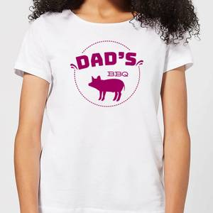 Dads BBQ Women's T-Shirt - White