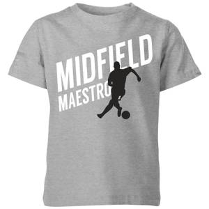 Midfield Maestro Kids' T-Shirt - Grey