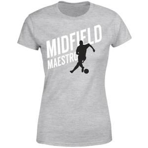 Midfield Maestro Women's T-Shirt - Grey
