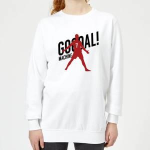 Goal Machine Women's Sweatshirt - White