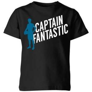 Captain Fantastic Kids' T-Shirt - Black