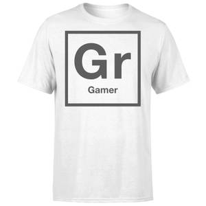 Periodic Gamer T-Shirt - White
