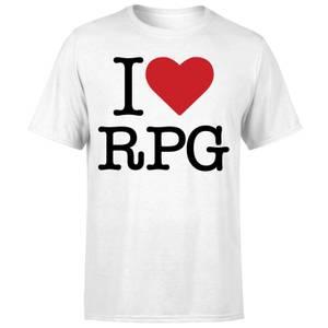 I Love RPG T-Shirt - White