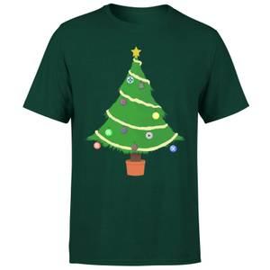 Buttons Tree T-Shirt - Forest Green