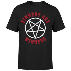 Sinners are Winners T-Shirt - Black