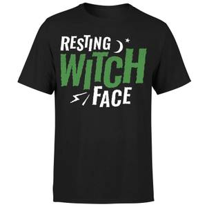 Resting Witch Face T-Shirt - Black