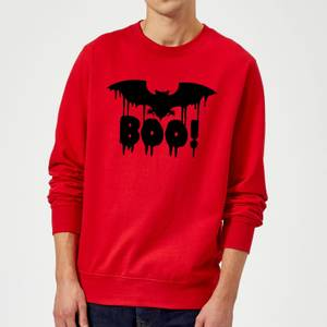Boo Bat Sweatshirt - Red