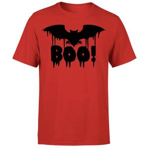 Boo Bat T-Shirt - Red