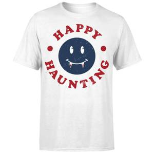 Happy Haunting Fang T-Shirt - White