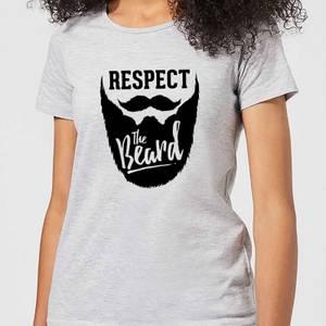 Respect the Beard Women's T-Shirt - Grey