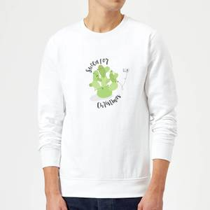Succa For Christmas Sweater - White