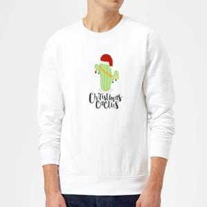 Christmas Cactus Sweatshirt - Weiß