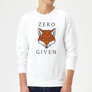 Zero Fox Given Sweatshirt - White
