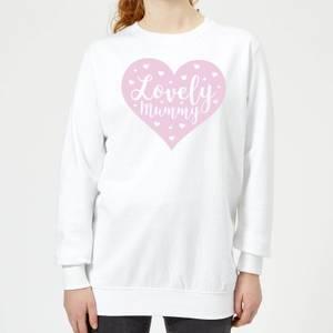 Lovely Mummy Women's Sweatshirt - White