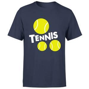 Tennis Balls T-Shirt - Navy