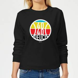 40 40 Deuce Women's Sweatshirt - Black