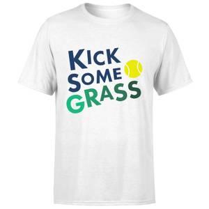 Kick Some Grass T-Shirt - White
