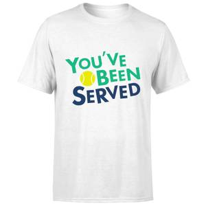 You've Been Served T-Shirt - White