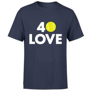 40 Love T-Shirt - Navy
