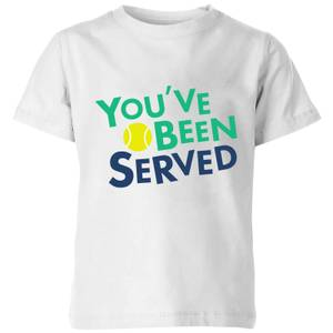You've Been Served Kids' T-Shirt - White