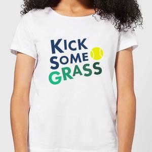 Kick Some Grass Women's T-Shirt - White