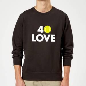 40 Love Sweatshirt - Black