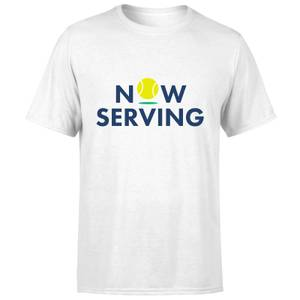 Now Serving T-Shirt - White