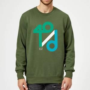 40 / d Match Point Sweatshirt - Forest Green