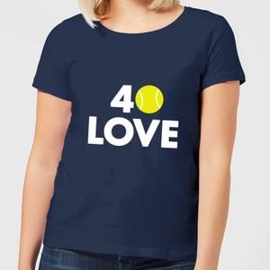 40 Love Women's T-Shirt - Navy