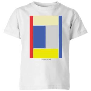 Center Court Kids' T-Shirt - White