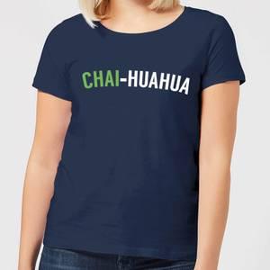 Chai-huahua Women's T-Shirt - Navy