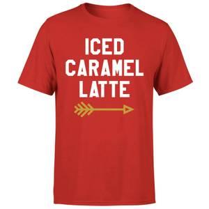 Iced Caramel Latte T-Shirt - Red