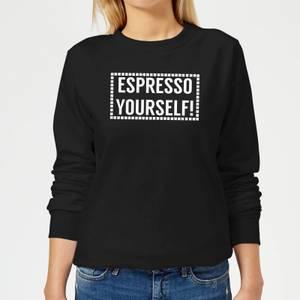 Espresso Yourself Women's Sweatshirt - Black