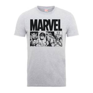 T-Shirt Homme Die By My Hand - Marvel Comics - Gris