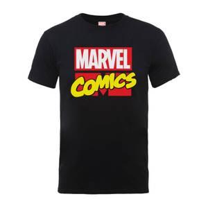 T-Shirt Homme Logo Principal - Marvel Comics - Noir
