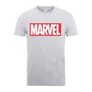 T-Shirt Homme Logo Principal - Marvel - Gris