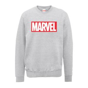 Felpa Marvel Main Logo Grey - Uomo