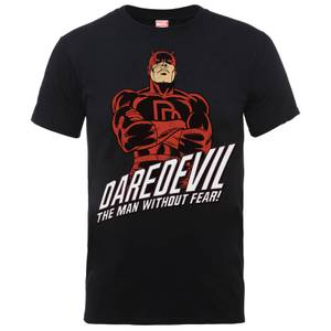 Marvel Comics Daredevil The Man Without Fear Heren T-shirt - Zwart